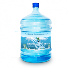 """Вода """"Шерегешская"""" 18.9 литров - на дом"""